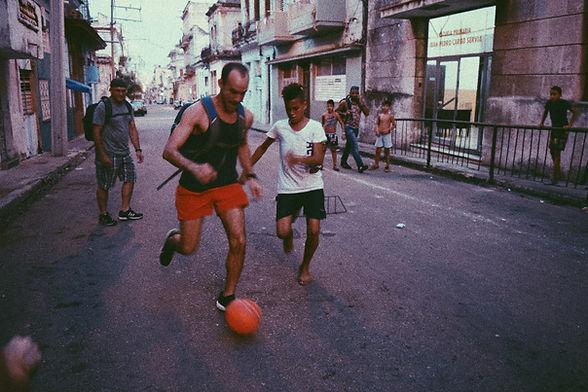 John Cores in Cuba