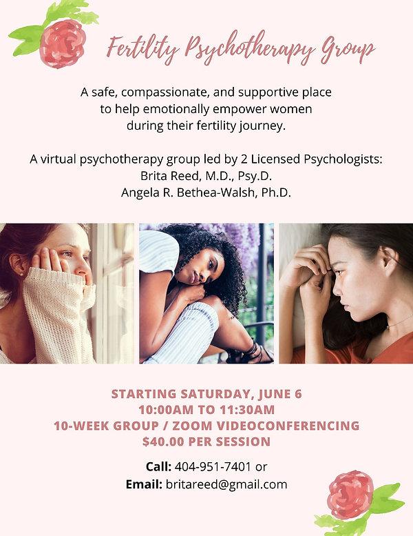 Fertility Psychotherapy Group Flyer-jpg