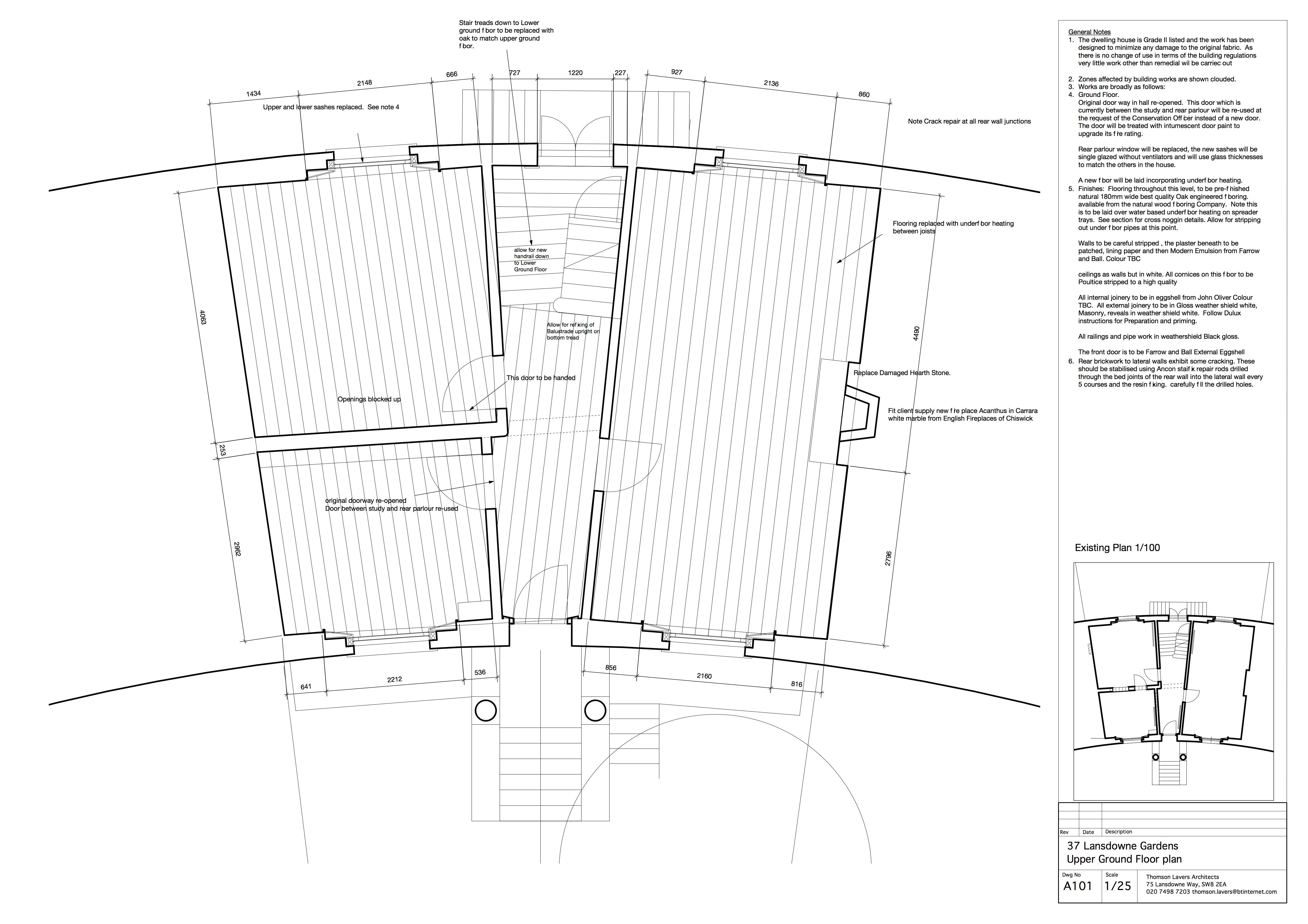 Lansdowne gardens plan