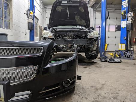 Replacing A Radiator