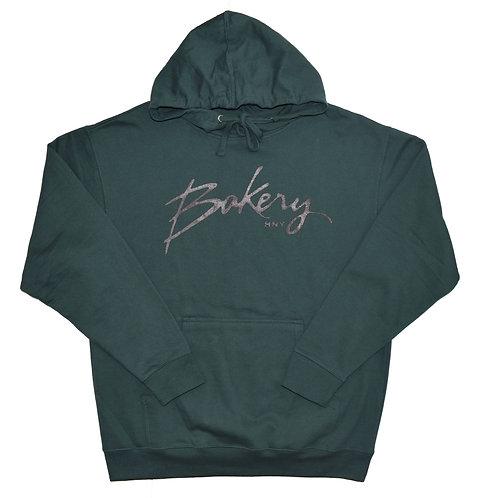 Bakery Script logo Pull Over Hoody