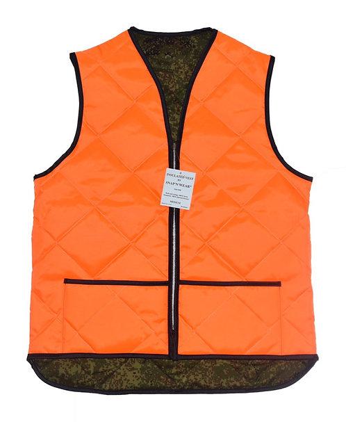 "Snap ""N"" Wear Quilting Liner Vest (裏地Camo)"