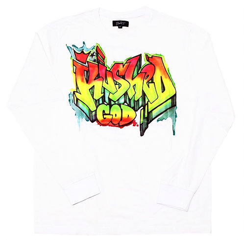 Bakery HNY Kushed God Graphic World Tour Japan Exclusive Long sleeve T-shirts