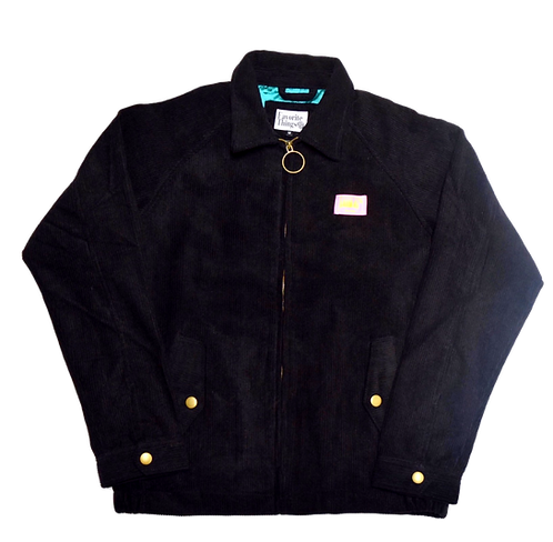 Favorite Things Fit into Lifestyle Embroidery Out logo Cordroy Jacket