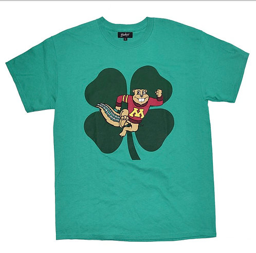 Bakery Squirrel Clover Short Sleeve T-shirts