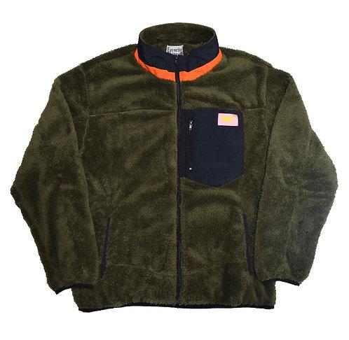 Favorite Things Fit into Lifestyle Nylon cutback Boa fleece Jacket