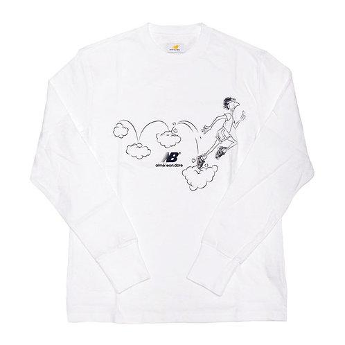 Aime leon dore/New Balance Graphic Runners Long sleeve T-shirts