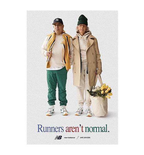 Aime leon dore/New Balance Runners aren't normal poster