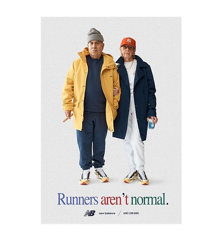 Aime leon dore/New Balance Runners aren't normal poster