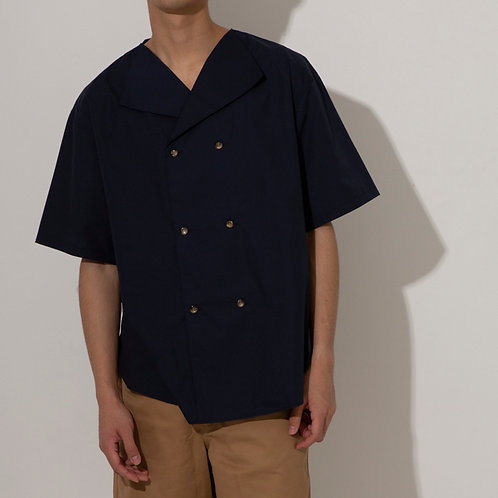 Men's WITH MII HOTEL BIG SHIRT(Navy)