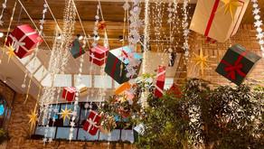 クリスマスまであと少し!街はキラキラムードがスタートです!