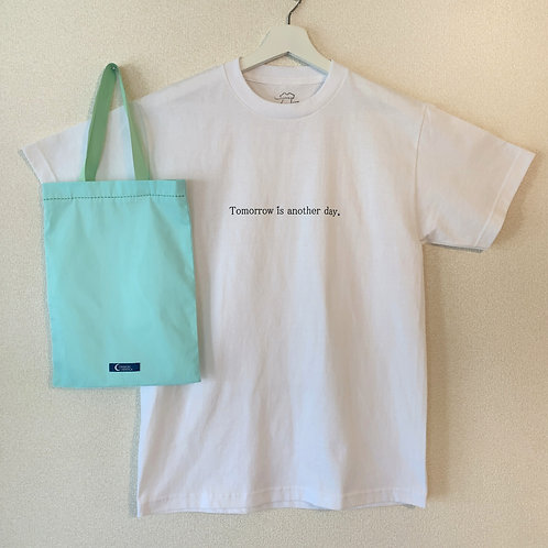 Tomorrow is another day.×COMMON HEPATICA Tシャツ