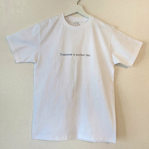 Tomorrow is another day.×AZRONE Tシャツ