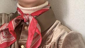 冬はワンパターンになりがち…スカーフを使った簡単アレンジコーディネート術!