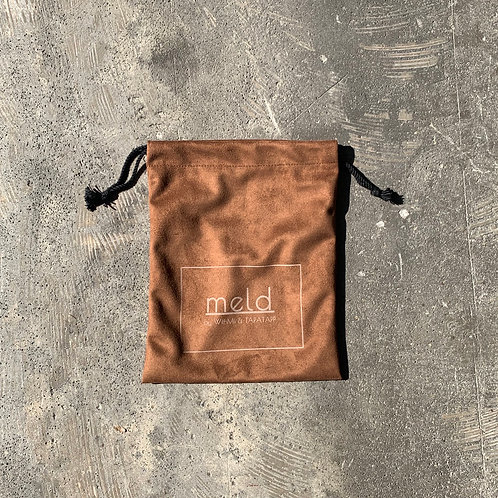 meld 巾着 bag (BROWN)