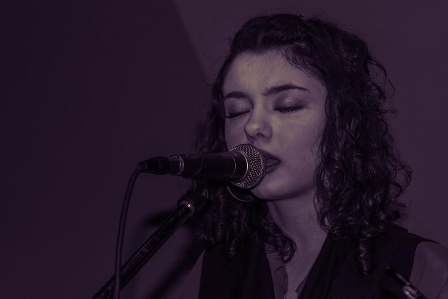 Taken by Rhiannon Cobb at The Empire Bar, Hackney, 29/02/20.