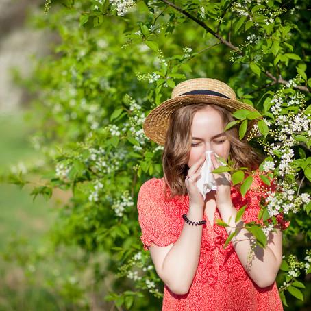 Olej CBD na alergie