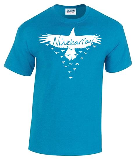 Sapphire 'Crow' Round Neck T-Shirts