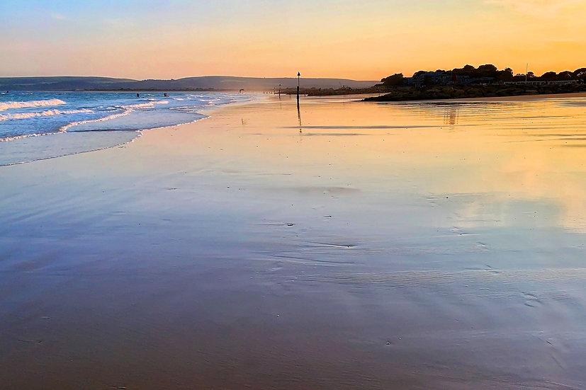 Low Tide at Sunset, Sandbanks