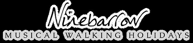 Ninebarrow Logo Walking hols black.png