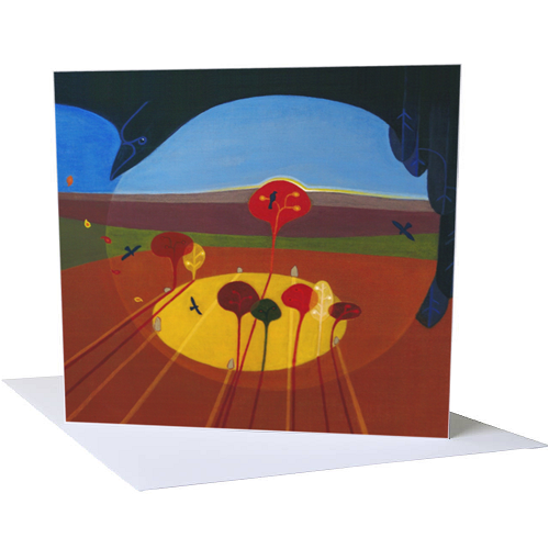 'Releasing the Leaves' Greetings Cards (A5)