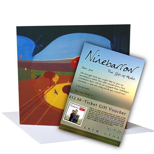 Online Concert Gift Voucher