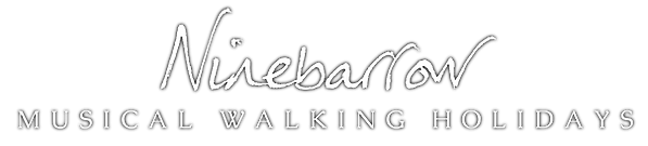 Ninebarrow Logo Walking hols heavy shado