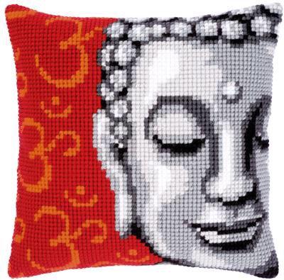 Kit couss au point de croix  Bouddha.