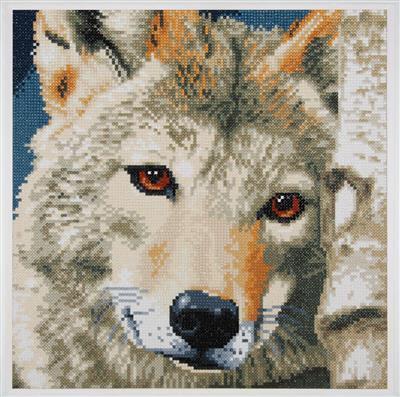Diamond Painting Kit - Loup