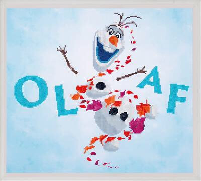 Diamond Painting Kit Disney - Reine des Neiges 2 - Olaf