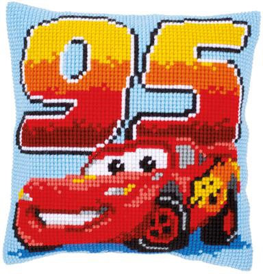 Kit coussin au point de croix Disney-Pixar Cars