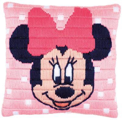 Kit coussin au point lancé Disney Minnie Mouse