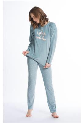 Pyjama dame Eskimo LOVE MY MOON