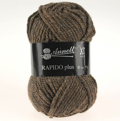 Annel Rapido Plus - Nuances de brun