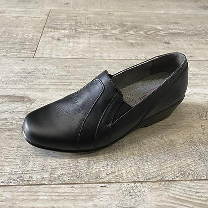 Chaussures confort en cuir véritable