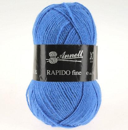 Annel Rapido fine - Nuances  de bleu