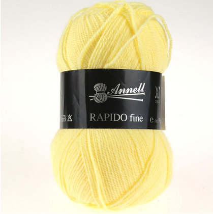 Annel Rapido Fine - Nuances de jaune, vert