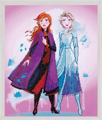 Diamond Painting Kit Disney - Reine des Neiges 2 - Elsa et Anna