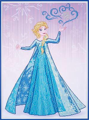 Diamond Painting Kit Disney - Reine des Neiges - Elsa