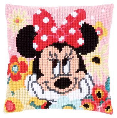 Kit coussin au point de croix Disney Minnie Rêvasse