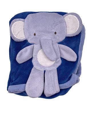 Couverture éléphant polaire fleese