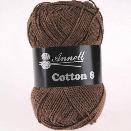 Coton 8 Annell réf  1 à  22