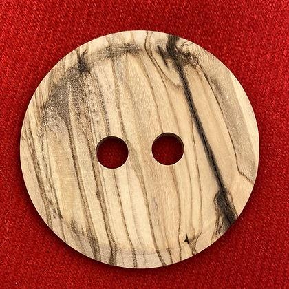 Gros bouton en bois naturel 4,5 cm