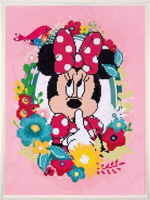 Diamond Painting Kit Disney - Minnie Pense