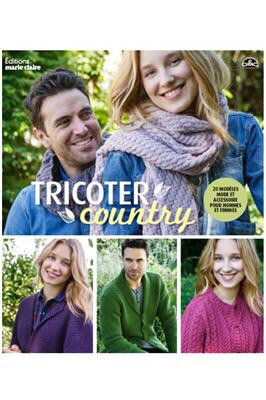 Livre Tricoter Country