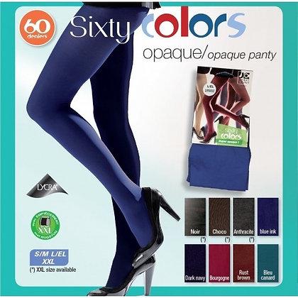 Collant opaque sixty colors Jacques  Esterel