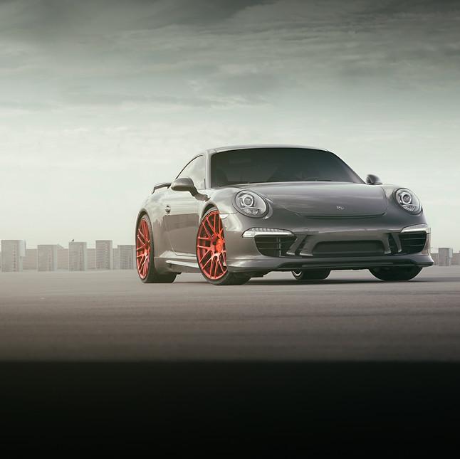 Porsche 911 S - Modulare Wheels