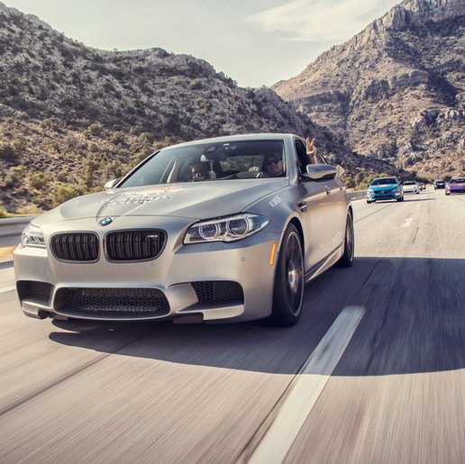 BMW M5 - Dustball Rally - Vegas to Vancouver