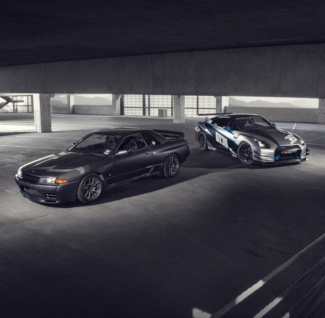 R32 and R35 Nissan GTR - Alpha Speed Consulting