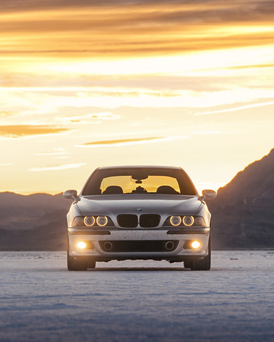 BMW M5 - Dustball Rally - Sante Fe to San Fransisco